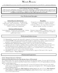 Pretentious Design Ideas Human Resource Manager Resume 4 Resume
