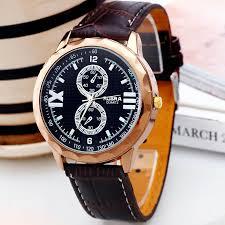 two dials fashion stylish luxury business style men boy accurate two dials fashion stylish luxury business style men boy accurate leatheroid band quartz wrist watch 3