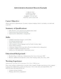 Resume For Receptionist Sample Examples Of Resumes For Receptionist