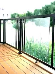glass panel deck railing home depot systems decorative aluminum panels tempered railings raili