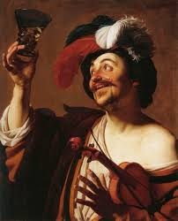 file gerard van honthorst the happy violinist with a glass of wine wga11668