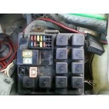 97 isuzu rodeo v 6 i have no air coming out of my vents i still need to know exactly which black box relay under the hood next to the battery i need to pull and check i have included a pic of the fuse box