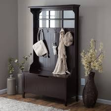 Coat Rack With Seat Mesmerizing Home Excellent Superb Entryway Bench Coat Rack HD For Residence