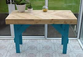 diy pallet table instructions on how to inexpensively build this modern table using s wood