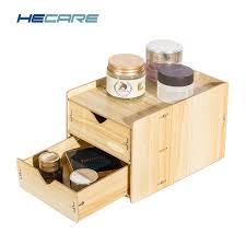 wooden desk drawer organizer. Interesting Organizer 2018 New Drawer Organizer Box Wooden Storage Boxes With Drawers Divider  Home Desk Desktop Intended N