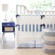 cobalt moon 3 piece crib bedding set