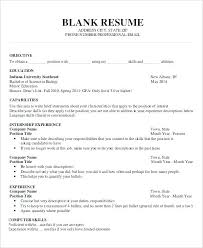 Word Document Resume Templates Resume Template Word Document ...