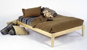 unfinished bed frame. Wonderful Bed Queen Size  Solid Wood Platform Bed Frame Clean Unfinished Chemical  Free Pine Inside Unfinished F