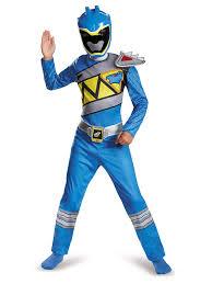 Light Blue Power Ranger Costume Amazon Com Disguise Blue Ranger Dino Charge Classic Costume