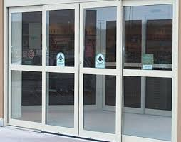 commercial sliding glass and glass