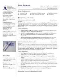 Architectural Resume Examples Architect Resume Format Architect Resume Exle  ...