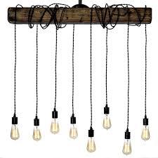 rustic farmhouse lighting industrial glass pendant light farmhouse fixtures country style chandelier farmhouse