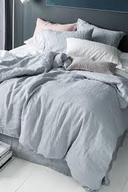 extremely creative grey linen duvet cover hampton set ezi dark charcoal king