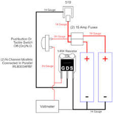 unregulated mod voltmeter wiring openpv my current project is a parallel unregulated mosfet mod