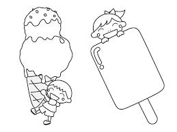 夏のイラスト集 にっこりキッズ加入者サービス
