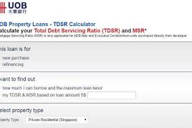 Uob Launches Online Mortgage Calculator Banking News Top Stories