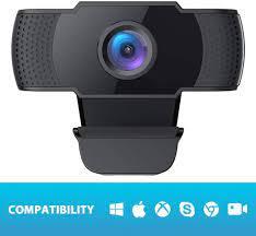 Webcam Full HD 1080P OBS Live Streaming Web