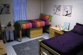 double bed set up w desk
