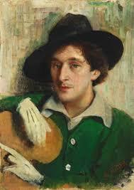 file yury pen portrait of marc chagall jpg