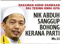Image result for nik abduh bohong
