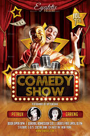 Comedy Show Flyer Template Comedy Show Flyer By EyestetixStudio GraphicRiver 5