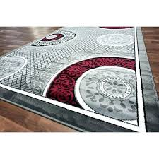 black white and gray rug incredible grey red area rugs gy modern solid exotic gra