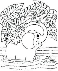 Animal Coloring Page Cute Animal G Pages Printable Pictures Of Zoo