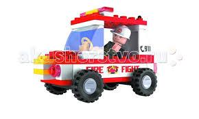 <b>Конструктор Ausini Пожарная бригада</b> 58 деталей - Акушерство.Ru