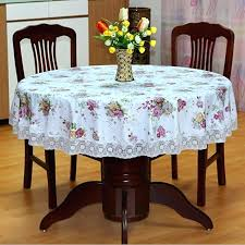 tablecloths round table hot past round table cloth waterproof non wash plastic pad plus velvet tablecloths round table