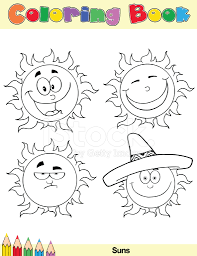 coloring pictures of sun 2.  Coloring Coloring Book Sun Cartoon Characters 2 With Pictures Of