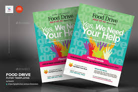 Food Drive Flyers Templates Food Drive Flyer Template