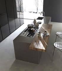 Source Dinspiration Ilot Cuisine Avec Table Coulissante Attrayant