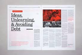 Editorial Design Ideas Editorial Design Inspiration 99u Magazine Editorial