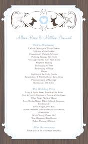 Wedding Program Templates Free Weddingclipart Com Paperworkd