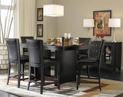 black dining room sets