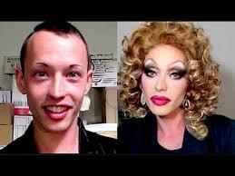 boy to drag queen makeup transformation vlog