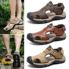Men's Sandals Beach Shoes Closed Toe <b>Breathable Anti</b>-<b>slip</b> ...
