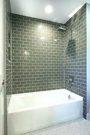 gray subway tile shower subway tile in shower grey subway tile bathroom tiles awesome bathtub pertaining gray subway tile