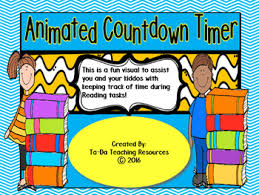 countdown timer 15 minutes 15 minute animated countdown timer for reading tasks tpt