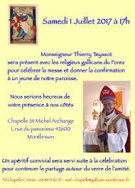 Chapelle Saint Michel Archange Montbrison Eglise Gallicane