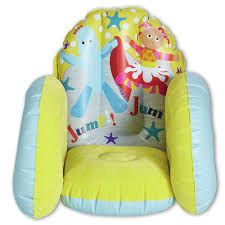 Inflatable Room In The Night Garden Itng Cbeebie Inflatable Kids Flocked Chair