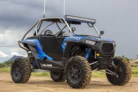 polaris rzr light bar popular sizes of polaris light bar for the ranger black oak s turret style four led pod lights come in three power levels 12w 20w or 40w