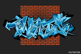 creative drawing brick wall