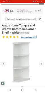 lasrecetas argos corner shelf bathroom