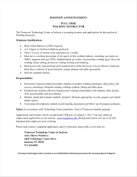 Coastal Resume Cover Letter Examples For Welders Engineer Sample