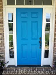 blue front doorMosque Front Door
