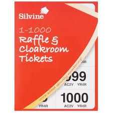 Raffle Ticket Booklets Raffle Cloakroom Tickets