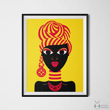 black woman art african woman black girl art african gifts pertaining to most recent african american on african woman wall art with photos of african american wall art and decor showing 18 of 20 photos
