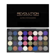 makeup revolution ultra 32 shade eyeshadow palette eyes like angels by makeup revolution for beauty in the united states