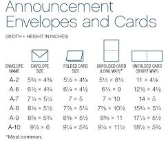What Size Are Invitation Envelopes Wedding Invitation Sizes Wedding